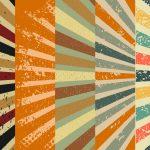 Colorful Rays Retro Background (JPG)