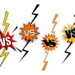 Comic VS Versus (PNG Transparent)