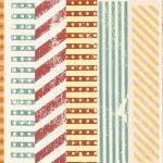 Grunge Stripes Retro Background (JPG)