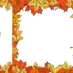 Autumn Leaf Frame Border (PNG Transparent)
