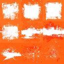 Orange White Grunge Background (JPG)