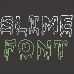 Slime Dripping Font (TTF,OTF)