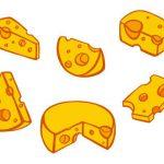 Cartoon Cheese (PNG Transparent)