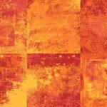 Red Orange Grunge Background (JPG)