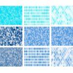 Blue Diamond Pattern Background (JPG)