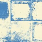 Blue White Vintage Grunge Background (JPG)