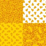 Cheese Pattern Background (JPG)