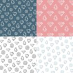 Diamond Gem Pattern Background (JPG)
