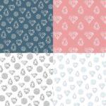 Diamond Gem Pattern Background (JPG)