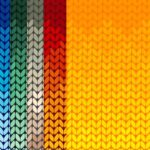 Seamless Gradient Knitted Texture Background (JPG)