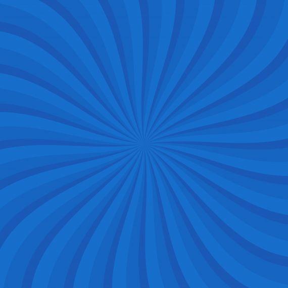 Blue Cartoon Spiral Background PNG
