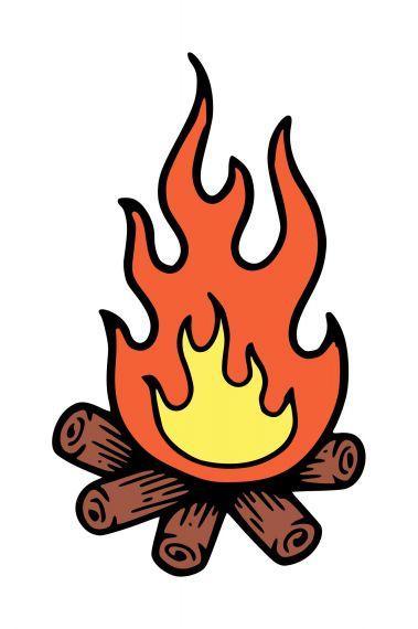 Campfire Clipart PNG Transparent