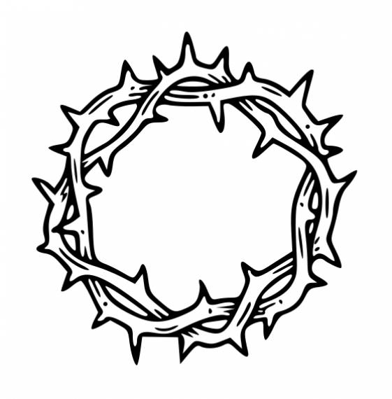 Circle Barbed Wire PNG Transparent SVG Vector