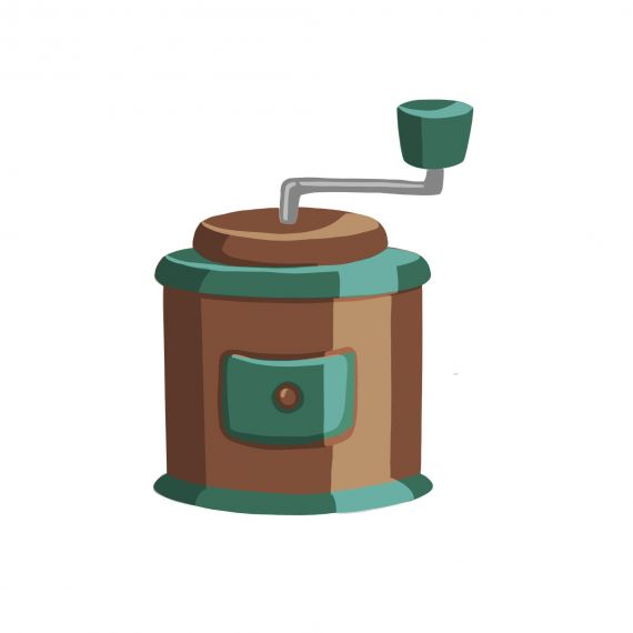 Coffee Grinder Clipart PNG Transparent