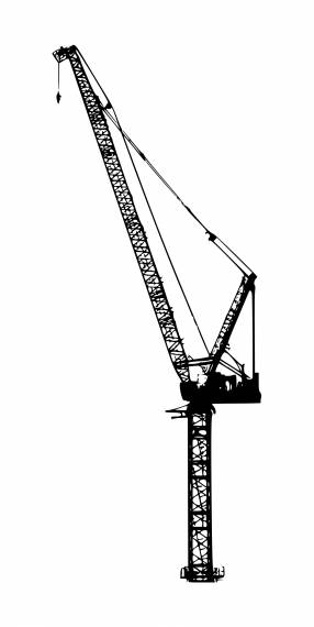 Crane Silhouette PNG Transparent SVG Vector