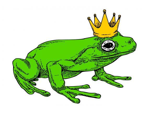 Frog Crown PNG Transparent