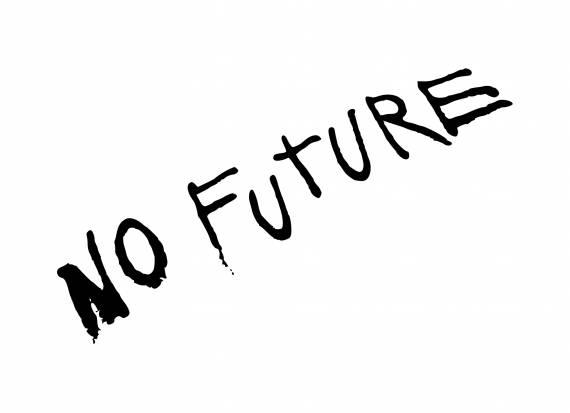 Graffiti No Future PNG Transparent SVG Vector