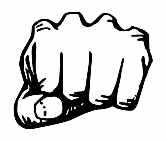 Hand Punch PNG Transparent SVG Vector