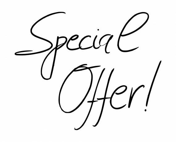 Handwritten Special Offer PNG Transparent SVG Vector