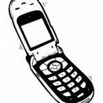 Old Cellphone PNG Transparent SVG Vector