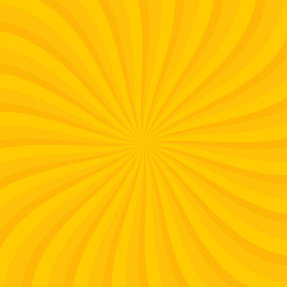 Orange Cartoon Spiral Background PNG