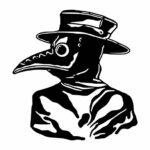 Plague Doctor PNG Transparent SVG Vector