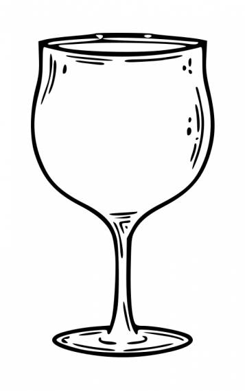Wine Glass PNG Transparent SVG Vector