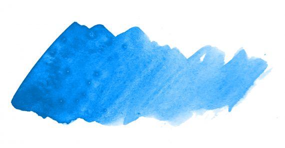 Blue Watercolor Banner Background JPG