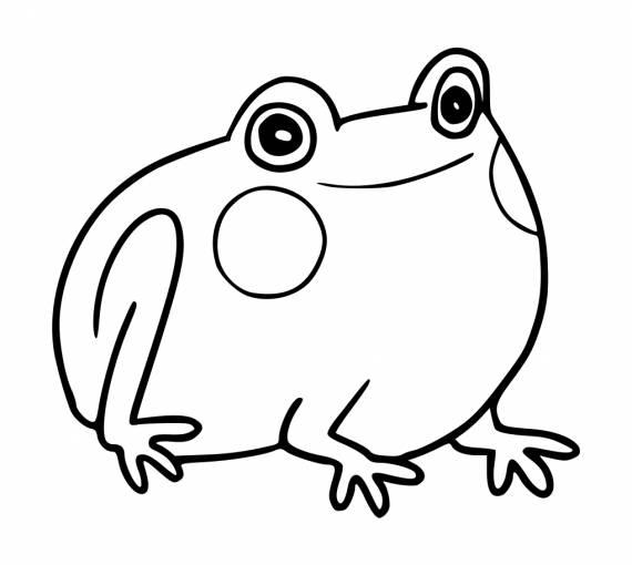 Cute Frog Doodle PNG Transparent SVG Vector