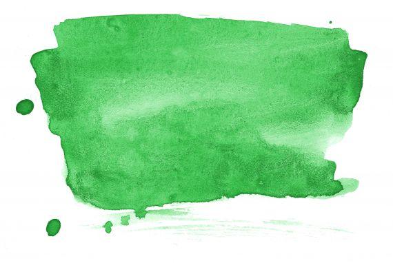 Green Watercolor Banner Background JPG
