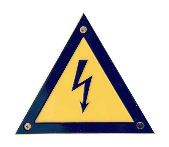 High Voltage Sign Cutout PNG Transparent