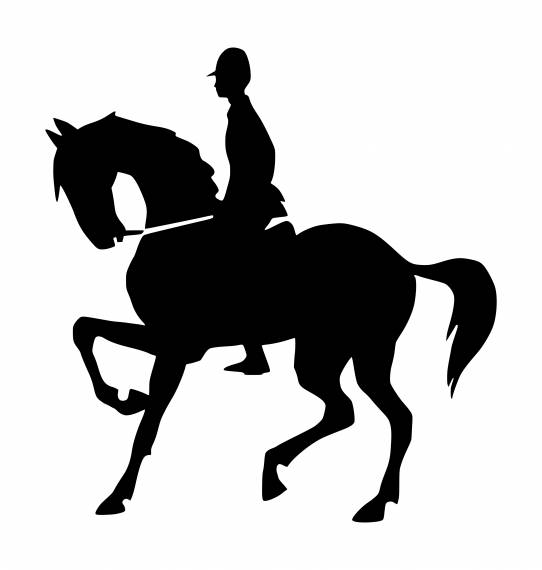 Horse Ride Sign PNG Transparent SVG Vector