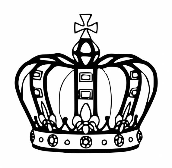 King Crown PNG Transparent SVG Vector