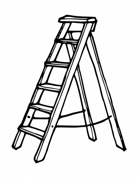 Ladder PNG Transparent SVG Vector