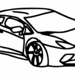 Lamborghini Drawing PNG Transparent SVG Vector