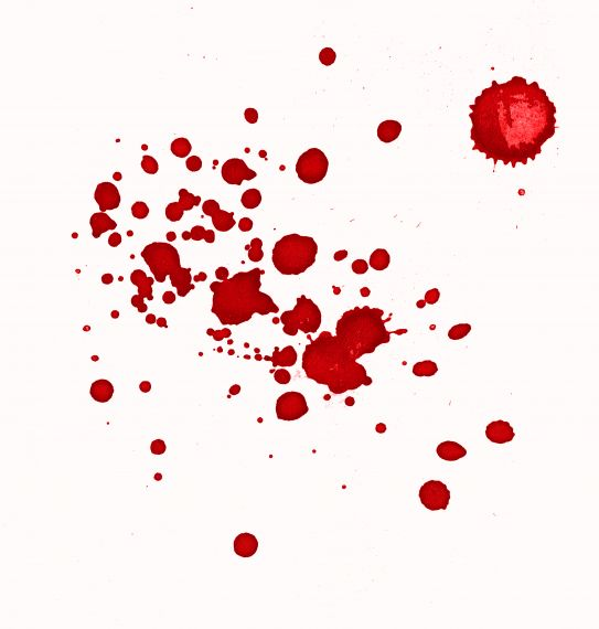 Red Abstract Watercolor Splash White Background JPG JPG