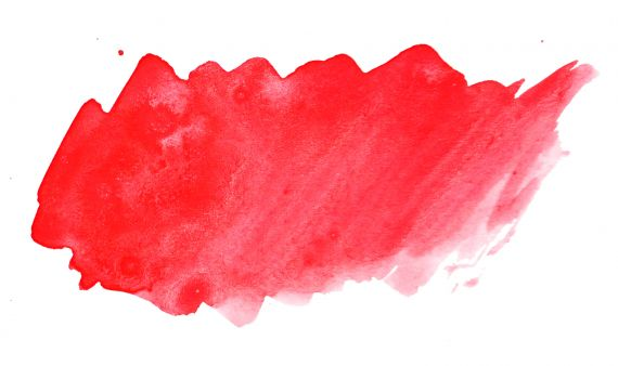 Red Watercolor Banner Background JPG