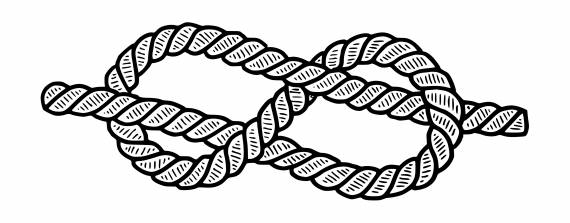 Rope Knot Tattoo PNG Transparent SVG Vector