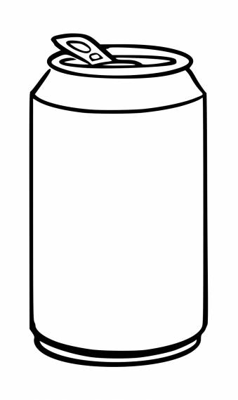 Simple Soda Can PNG Transparent SVG Vector