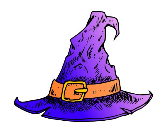 Witch Hat PNG Transparent