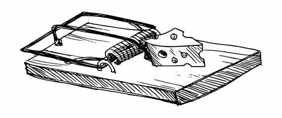 Mousetrap Drawing PNG Transparent SVG Vector