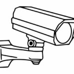 Surveillance Camera Icon PNG Transparent SVG Vector