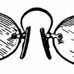 Vintage Eye Glasses PNG Transparent SVG Vector